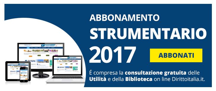 Banner strumentario 2017 dirittoitalia-no offerta