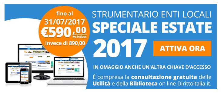 Offerta Abbonamento Enti Locali dirittoitalia 2017