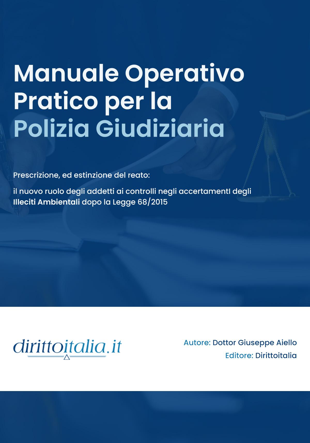 Manuale Polizia Giudiziaria